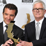 Rick Mercer and partner Gerald Lunz