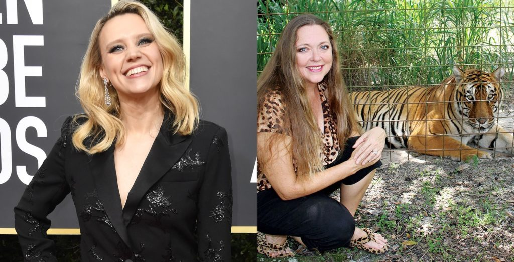 Kate McKinnon is reportedly signed on to play Carol Baskin in the Tiger King adaptaiton